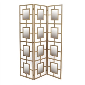 Deco Charm Mirrored Screen
