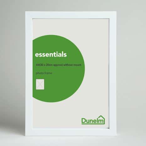 essentials grey box frame - White Photo Frame