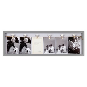 Family Peg Photo Frame