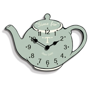 Jones Teapot Wall Clock
