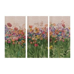 Keepers Lodge Autumnal Triptych Canvas