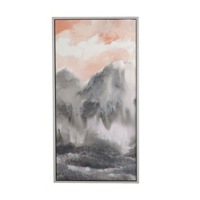 5A Fifth Avenue Mountains Framed Fabric