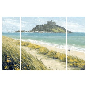 Pilgrimage Beach Canvas