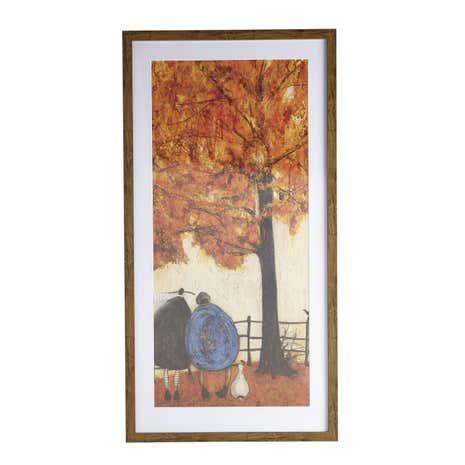 sam toft autumn framed print