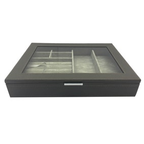 5A Fifth Avenue Grey Jewellery Box