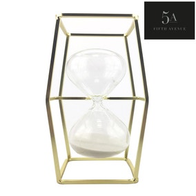 5A Fifth Avenue Gold Hourglass in Stand