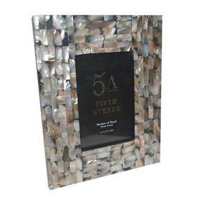 5A Fifth Avenue Mother of Pearl Photo Frame