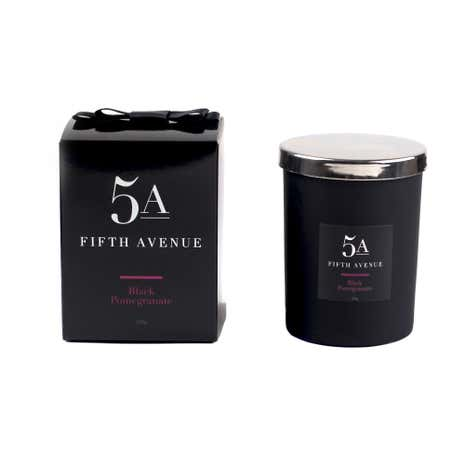 5A Fifth Avenue Black Pomegranate Candle