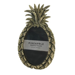 Coloanial Charm Pineapple Photo Frame