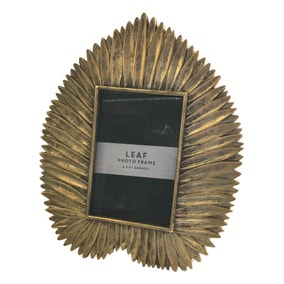 Deco Charm Gold Leaf Photo Frame