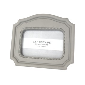 Maison Francaise Grey Landscape Photo Frame