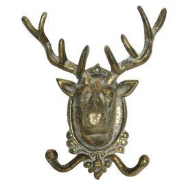 Keepers Lodge Stag Wall Hook