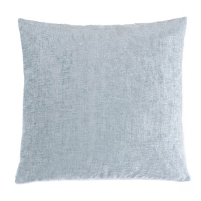 Chenille Duck Egg Blue Cushion