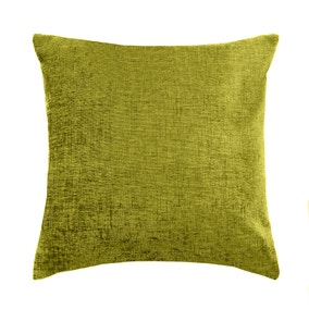 Olive Chenille Cushion