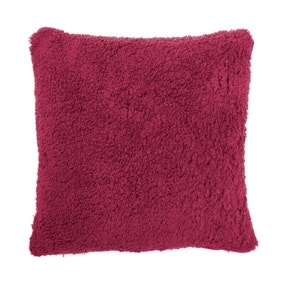 Cranberry Teddy Bear Cushion