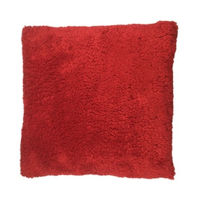 Red Teddy Bear Cushion