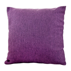 Essentials Barkweave Aubergine Cushion