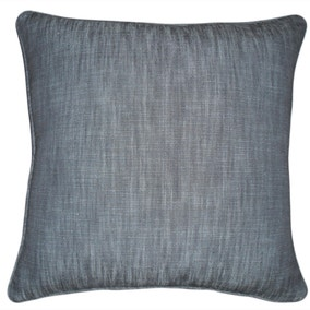 Large Denim Cotton Slub Cushion