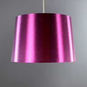 Ruby Gloss Plum Drum Shade