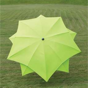 Lotus Fibreglass Parasol 2.7m Lime
