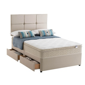 Silentnight Rio Platform Top Divan Set