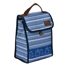 Polar Gear Rio Blue Elephants Lunch Cooler
