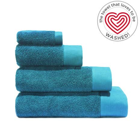 Air Rich Emerald Towel Dunelm