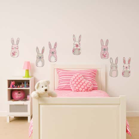 Kids Wall Stickers And Wallpaper Dunelm - Wall stickers for kids