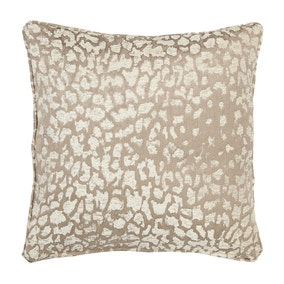 5A Fifth Avenue Gold Leopard Chenille Jacquard Cushion