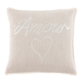 Amour Embroidered Cushion