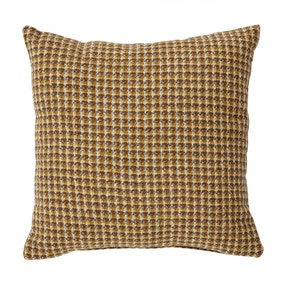 Caelian Mini Check Ochre Cushion