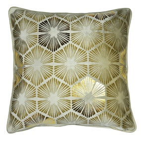 Deco Charm Champagne Cushion