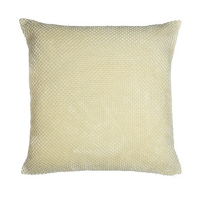Chenille Spot Ivory Cushion