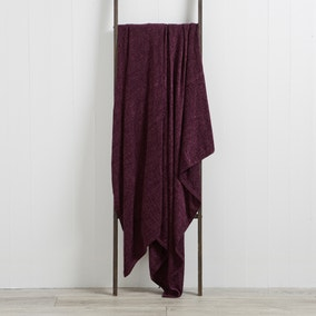 Chenille Grape Throw