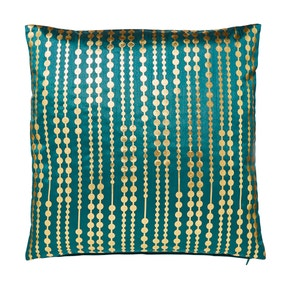 Cicely Spots Teal Cushion