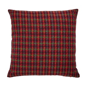 Houndstooth Multi Coloured Check Cushion