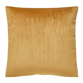 Large Gold Lux Chevron Cushion