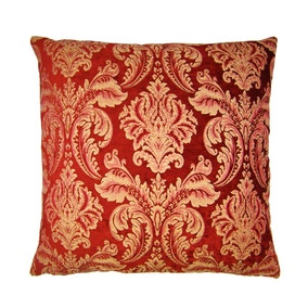 Large Scarlett Red Cushion Cover