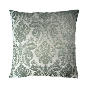 Large Scarlett Silver Cushion Cover