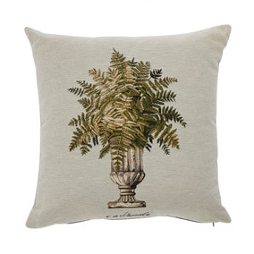 Natural Tapestry Urn Cushion