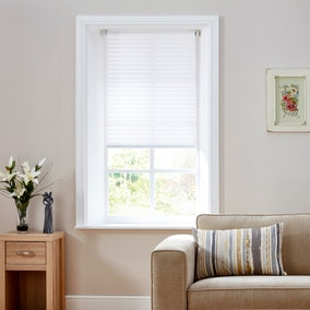 Sheer White Stripe Auto Roller Blind