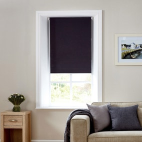 Bexley Charcoal Auto Roller Blackout Blind