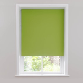 Bright Green Blackout Cordless Roller Blind