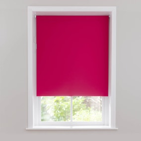 Hot Pink Blackout Cordless Roller Blind