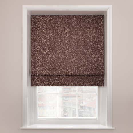 5A Fifth Avenue Madison Plum Roman Blind