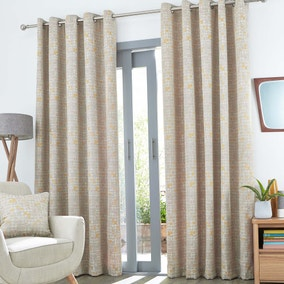 Elements Malmo Eyelet Curtains