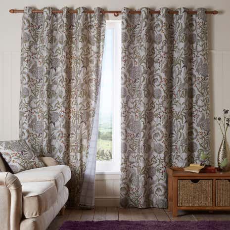 Gorse Eyelet Curtains