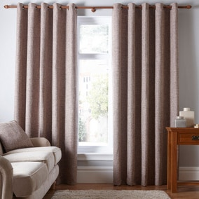 Thornton Claret Eyelet Curtains
