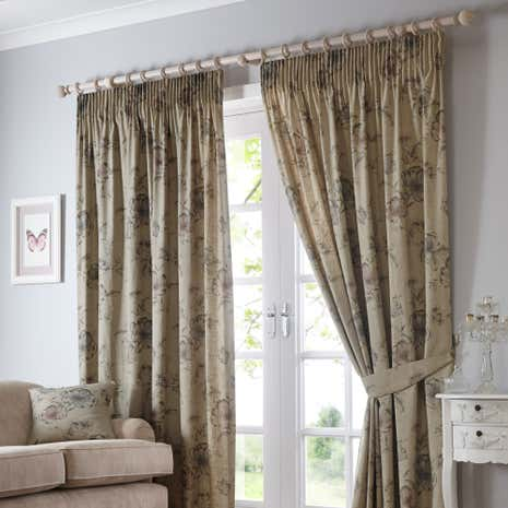 Pivoine pencil pleat curtains dunelm Curtains and blinds