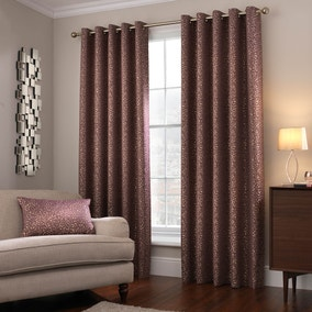 5A Fifth Avenue Madison Plum Eyelet Curtains